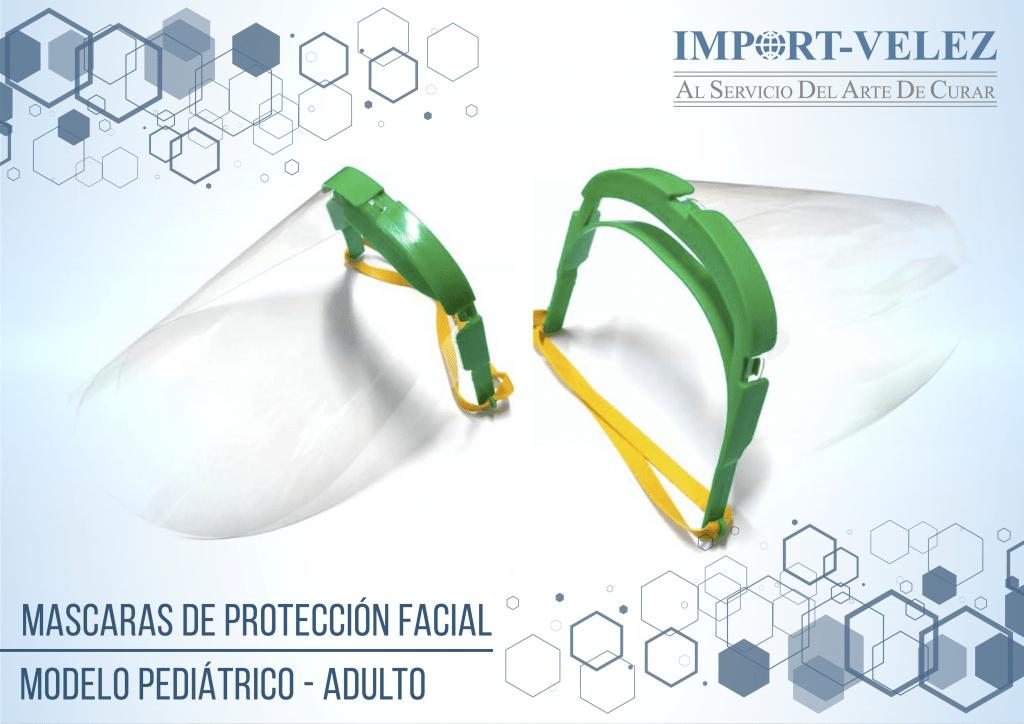 Producto Mascaras Protectoras Adulto - Pediátrico